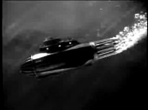 The rocket-powered super submarine.