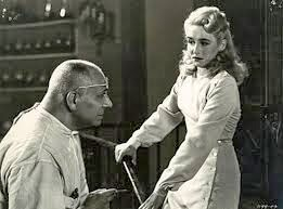 Erich von Stroheim and Vera Hruba Ralston.