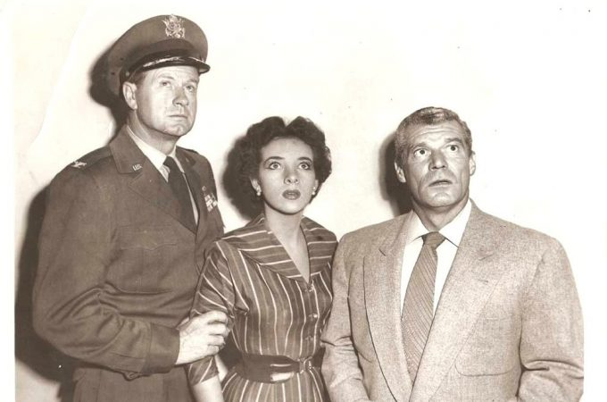 James Seay, Barbara Bestar and Frank Gerstle in a publicity shot.
