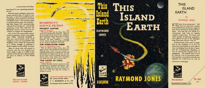 Sleeve for Raymond F. Jones novel This Island Earth.